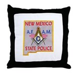 New Mexico SP Masons Throw Pillow