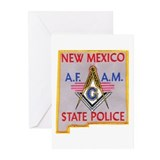 New Mexico SP Masons Greeting Cards (Pk of 10)