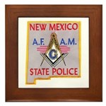 New Mexico SP Masons Framed Tile
