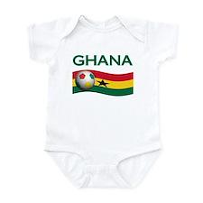 TEAM GHANA WORLD CUP Infant Bodysuit