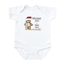 Who Needs Santa? Nana Infant Bodysuit
