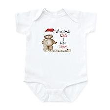 Who Needs Santa? Nonno Infant Bodysuit