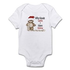 Who Needs Santa? Nonna Infant Bodysuit