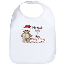 Who Needs Santa? Bib