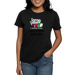 Mad Crowd Disease Women's Violet T-Shirt