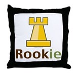 Rook Rookie Chess Piece Throw Pillow