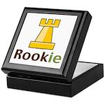 Rook Rookie Chess Piece Keepsake Box