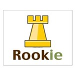Rook Rookie Chess Piece Small Poster