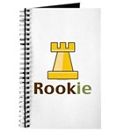 Rook Rookie Chess Piece Journal