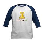 Rook Rookie Chess Piece Kids Baseball Jersey