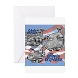 Travis AFB Triplets Greeting Card