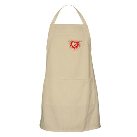 Broken Hearted BBQ Apron