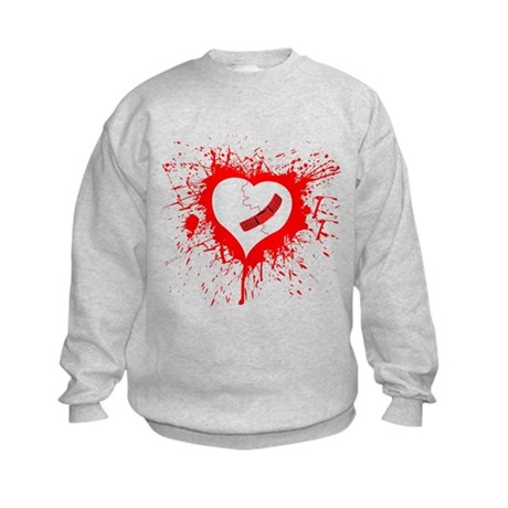 Broken Hearted again Kids Sweatshirt