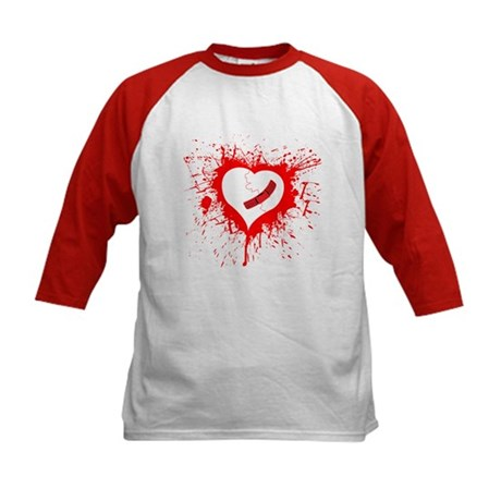 Broken Hearted again Kids Baseball Jersey