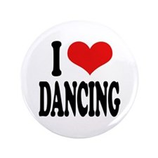 "I Love Dancing 3.5"" Button (100 pack)"