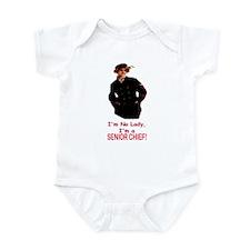 Lady? No, Senior Chief Infant Bodysuit