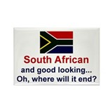 S Africa-Good Lkg Rectangle Magnet