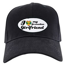 I love Grenadian Girlfriend Baseball Hat