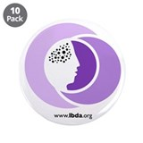 "Cute Alzheimer's disease 3.5"" Button (10 pack)"