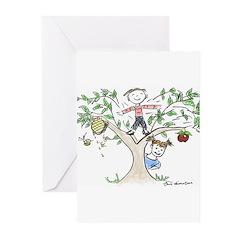 Jewish Kids Greeting Cards (Pk of 10)