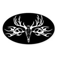 Hunt Oval Decal