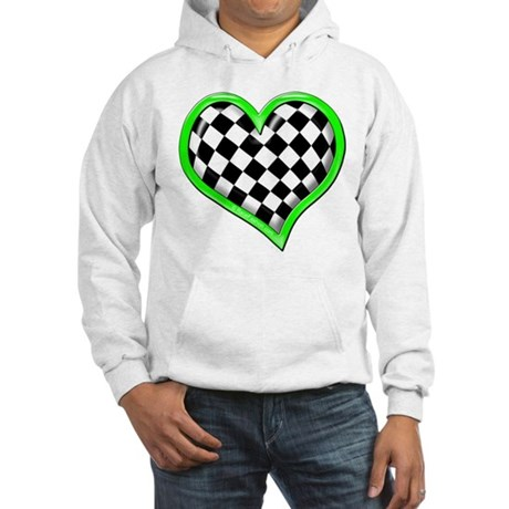 Auto Racing Clothing on Auto Racing Gifts   Auto Racing Sweatshirts   Hoodies   Green