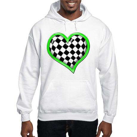 Auto Racing Clothing on Auto Racing Gifts   Auto Racing Sweatshirts   Hoodies   Green