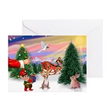 Santa's treat /Chih Greeting Cards (Pk of 10)