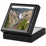 Yellowstone Canyon Keepsake Box