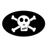 Skull & Crossbones Decal