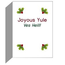 Joyous Yule Greeting Cards (Pk of 20)