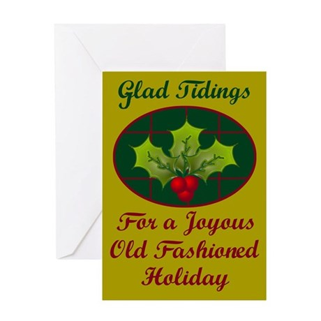 Io Saturnalia! (Toga) Greeting Card