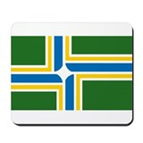Portland Flag Mousepad