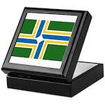 Portland Flag Keepsake Box