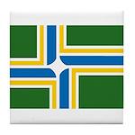 Portland Flag Tile Coaster