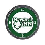 Murphy's INN Wall Clock