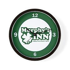Murphy's INN Wall Clock