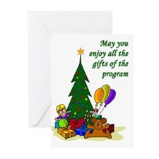 Christmas Gifts of the Program Cards (Humor) 20pk