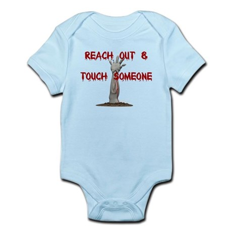 Scary Halloween Infant Bodysuit