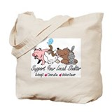 Help Animals Tote Bag