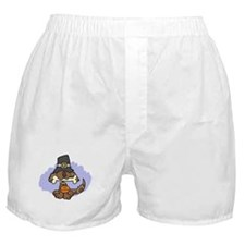 Thanksgiving Puppy Boxer Shorts