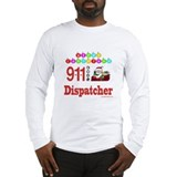 911 Dispatcher Christmas Gift Long Sleeve T-Shirt