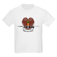Papua New Guinea Coat of Arms Kids T-Shirt