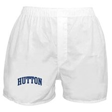 HUTTON design (blue) Boxer Shorts