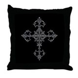 Large Cross Throw Pillow