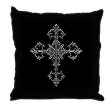 Large Cross Throw Pillow