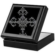 Large Cross Keepsake Box