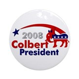 ::: Colbert - Star and Stripe ::: Ornament (Round)
