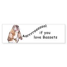 Aarrroooo! Bumper Bumper Sticker
