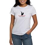 Trumpet (red stars) Women's T-Shirt